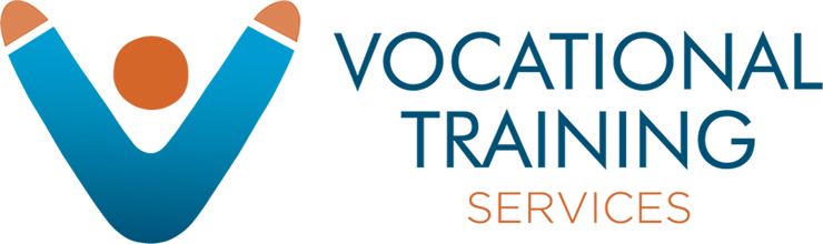 VTS Vocational Training Services Retina Logo